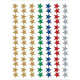 Teacher Created Resources Assorted Stars Foil Stickers