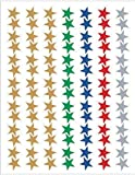 Teacher Created Resources Assorted Stars Foil Stickers, Multi Color (1275)
