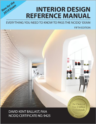Interior Design Reference Manual: Everything You Need to Know to Pass the NCIDQ® Exam by Brand: Professional Publications, Inc.