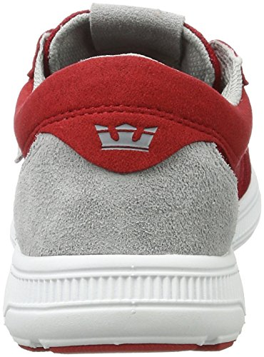 bianco Skate Marciume Eseguire rosso Maschile Martello Scarpa Supra 6Cqwa