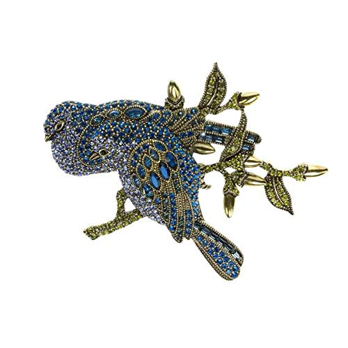 - Heidi Daus Love Doves Crystal Pin Swarovski Crystals Beautiful Collector's Item!