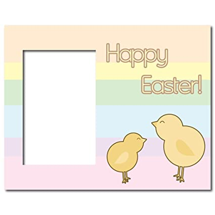 Amazon.com - VictoryStore Easter Picture Frame - Holds 4x6 Photo ...