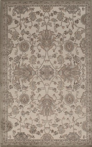 Rugs America Tan 5 x 8 Riviera Rugs, 5-ft 0-in x 8-ft 0-in,