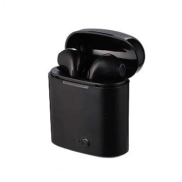 Auriculares inalámbricos Bluetooth melysEU, V4.1/sonido HD/batería de larga duración, auriculares deportivos, auriculares con micrófono Doppel Schwarz, ...