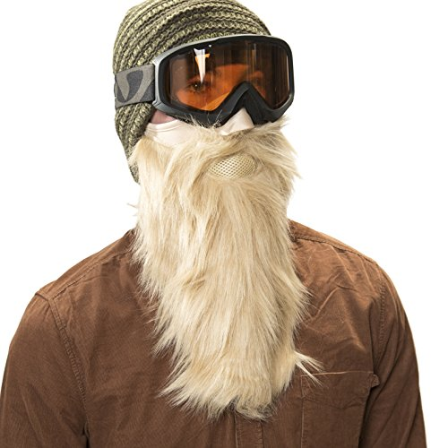 Blonde Viking Beardski Ski Mask