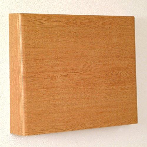 Wooden Mallet Fold-away Wall Desk/Laptop Workstation Oak