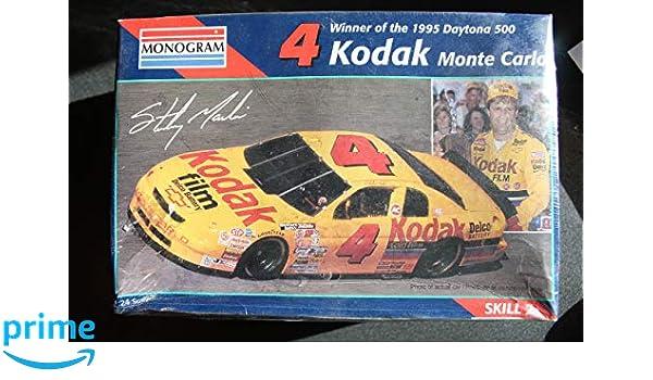 Toys, Hobbies 1:24 Kodak Monte Carlo Nascar #4 Revell Monogram 2448