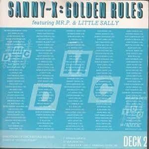 Sanny X Golden Rules