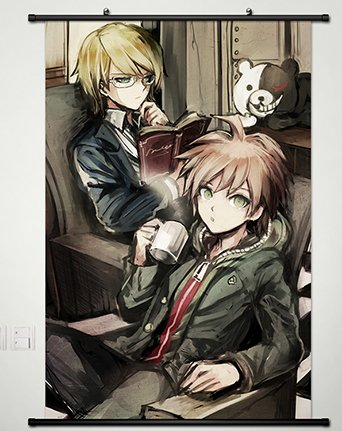 Wall Scroll Poster Fabric Painting For Anime Danganronpa Nae