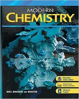Modern Chemistry Homeschool Packages for Grades 9-12