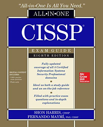 CISSP All-in-One Exam Guide, Eighth Edition (One For One And One For All)