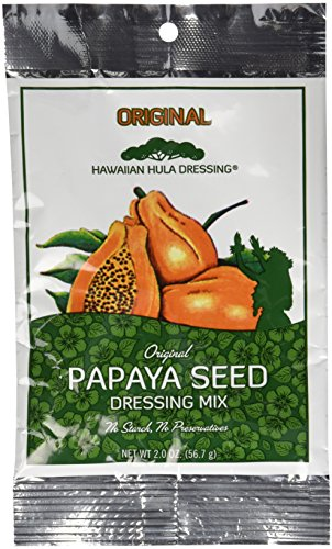 Hawaiian Papaya Seed Dressing Mix