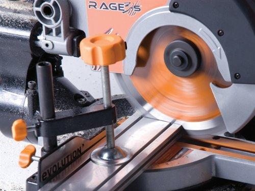 EVOLUTIONBUILD sierra ingletadora multifunci/ón RAGE3-S