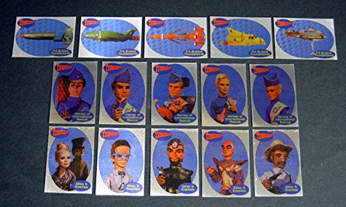 2001 Cards Inc Thunderbirds TV Series 1 Foil Chase Set (15) Nm/Mt