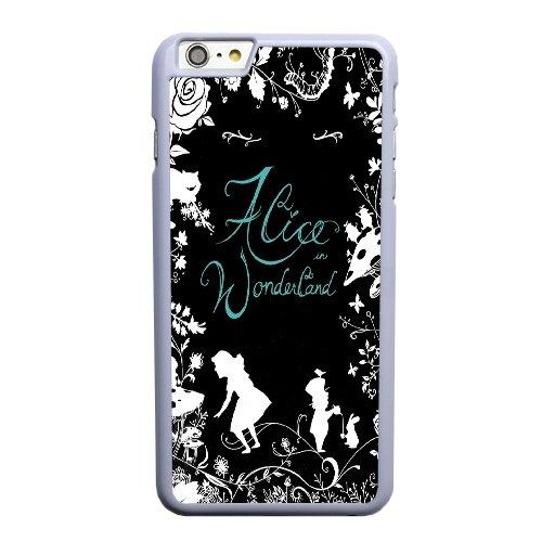 Coque,Apple Coque iphone 6 6S (4.7 pouce) Case Coque, Generic Alice In Wonderland 2 Cover Case Cover for Coque iphone 6 6S (4.7 pouce) blanc Hard Plastic Phone Case Cover