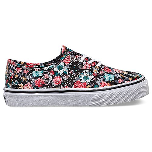 d978561344b13c Vans Multi Floral Authentic Girls Skate Shoes in Black True White sz 2 -  Buy Online in KSA. Shoes products in Saudi Arabia. See Prices