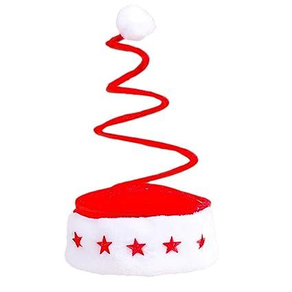Luoem Sombrero De Navidad Sombreros Divertidos Para Fiestas Sombrero