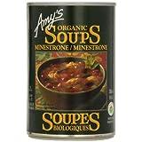 Amy'S Kitchen Organic Minestrone Soup, 398 ml