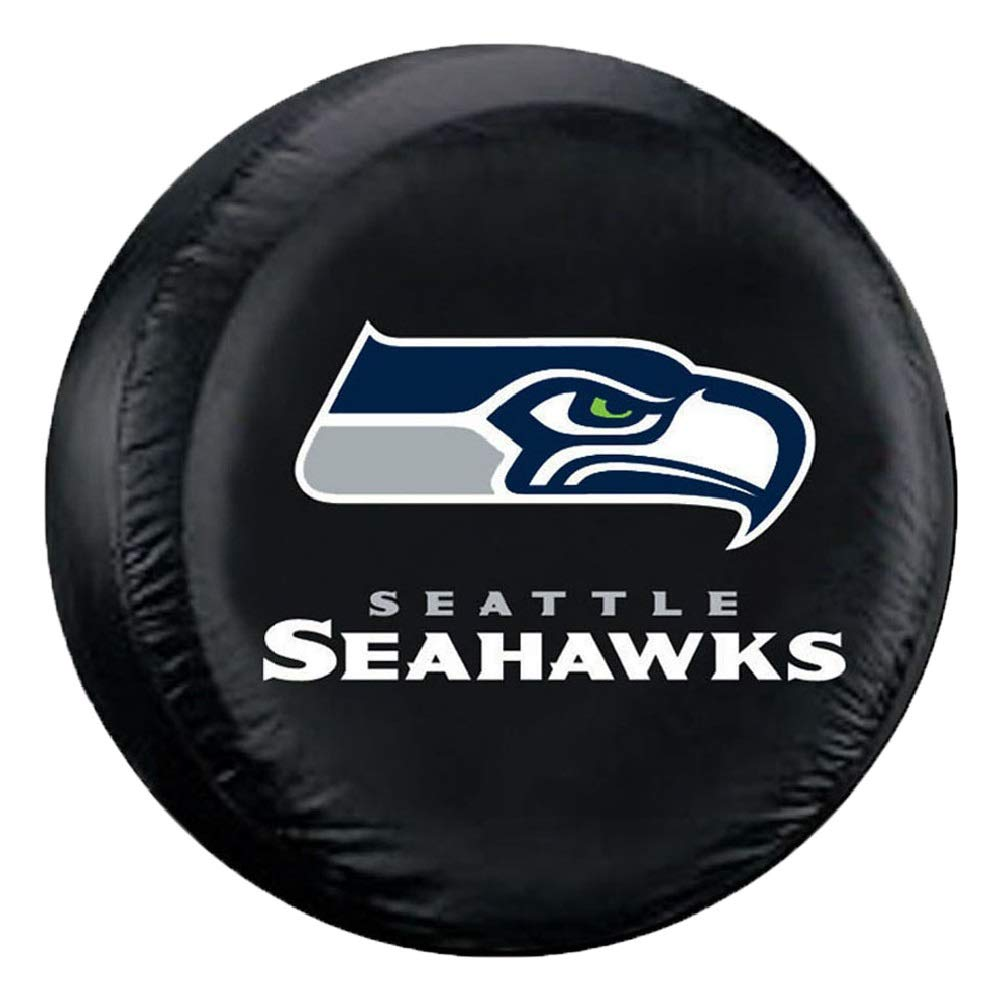 Fremont Die NFL Seattle Seahawks Tire Cover, Large Size (30-32'' Diameter) by Fremont Die