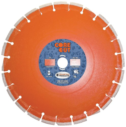 Diamond Products Core Cut 44686DIA Heavy Duty Cured Concr...