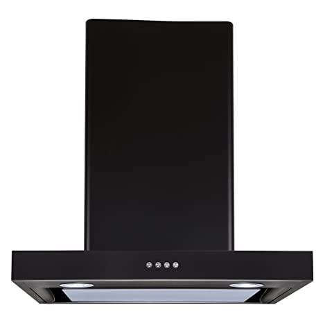 Elica Deep Silent Chimney with EDS3 Technology (Spot NG EDS LTW PB LED, Black)