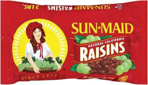 Natural California Raisins (Pack of 18)