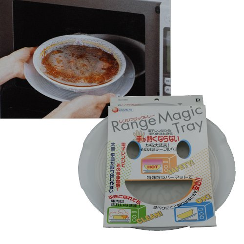 Microwave Magic Tray - Safety! Clean!