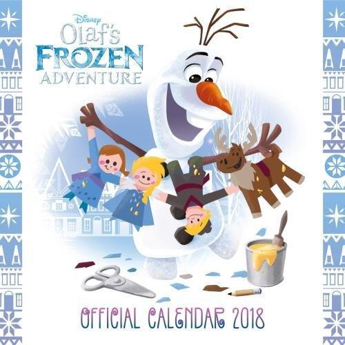 Disney Frozen Official 2018 Calendar - Square Wall Format