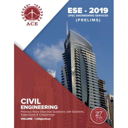 ESE - 2019 Prelims Civil Engineering Objective Volume 1