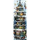 Tall Christmas House German Advent Calendar