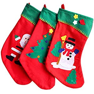 Christmas Stockings,Morecome Fashion Gift Bag Christmas Tree Decoration Supplies