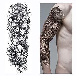 7pcs manga del brazo de la flor mangas de tatuajes baratos ...