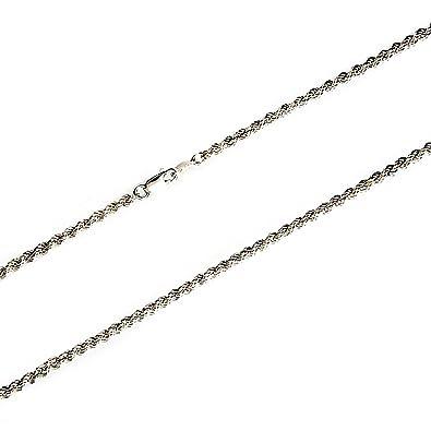 5a3e009bd12c Cordón cadena plata 925m salomónico 4mm. 60cm.  5980   Amazon.es  Joyería