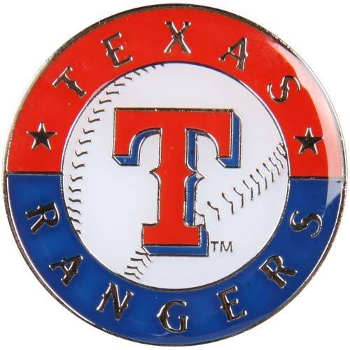 (MLB Texas Rangers Logo Pin)