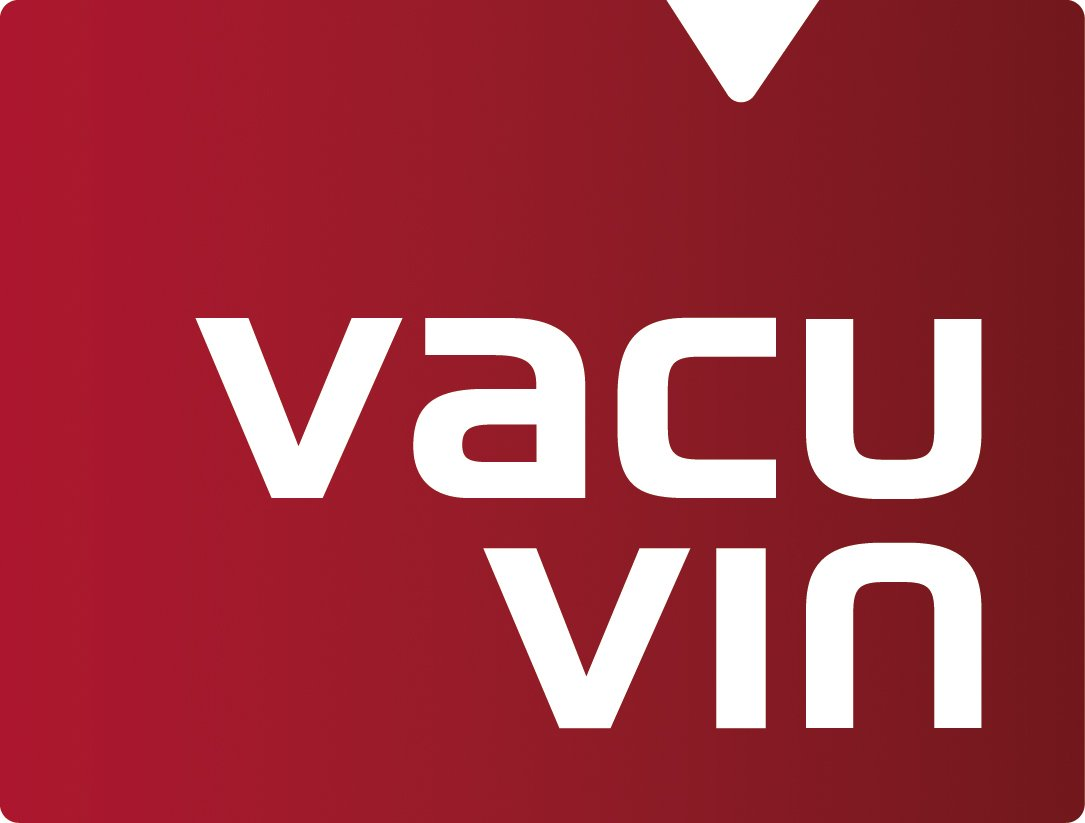 White The Original Vacu Vin Wine Saver with 2 Vacuum Stoppers