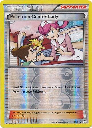 Pokemon - Center Lady (68/83) - Generations - Reverse Holo