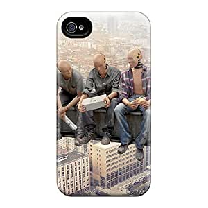Durable Dummys Up High Back Case/cover For Iphone 4/4s
