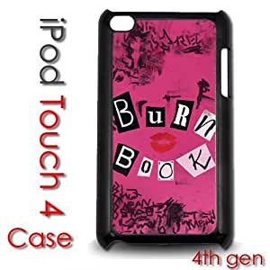 IPod Touch 4 4th gen Touch Plastic Case - Burn Book Mean Girls Regina George Kimberly Kurzendoerfer
