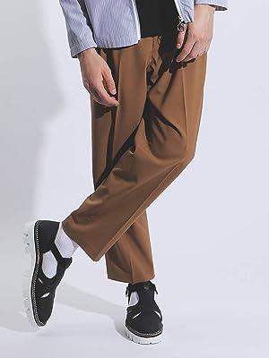 (アバハウス) ABAHOUSE パンツ TWギャバ ワイドテーパードパンツ メンズ