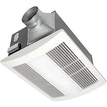 Panasonic FV-11VHL2 WhisperWarm 110 CFM Ceiling Mounted Fan/Heat/Light-Night-Light Combination, White