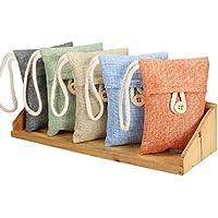 100% Natural Auto Air Purifying Bamboo Charcoal Bag/ Air Freshener 5 Pack(100g)