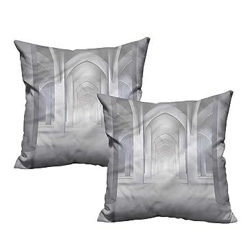 Amazon.com: Funda de almohada de tela de ilustración para ...