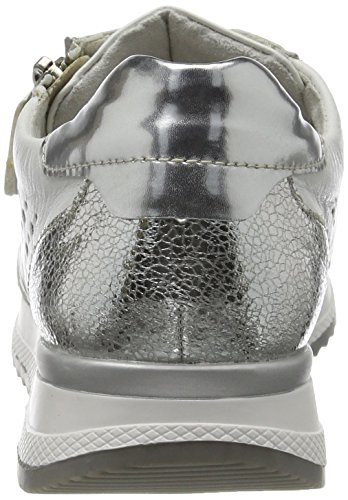 80 Weiss Basses Silber Remonte Weiss Femme R7003 Argento Blanc Weiß Sneakers O8Avq8w