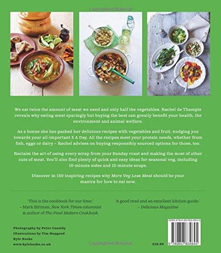 More veg less meat the eco friendly way to eat with 150 inspiring more veg less meat the eco friendly way to eat with 150 inspiring flexitarian recipes amazon rachel de thample 9780857834645 books forumfinder Images