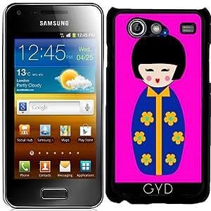 Funda para Samsung Galaxy S Advance (i9070) - Chica Japonesa by les caprices de filles