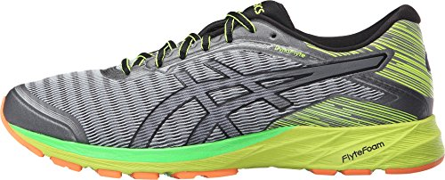 ASICS-Mens-Dynaflyte-running-Shoe-Mid-GreyBlackSafety-Yellow-125-M-US