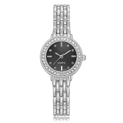 PZXY Reloj de cuarzoGrandes Relojes para Mujer Relojes de Hora Top Marca Cuarzo Reloj Mans patrón