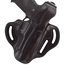 Galco Cop 3 Slot Holster for Sig-Sauer P229, P228 (Black, Left-hand)