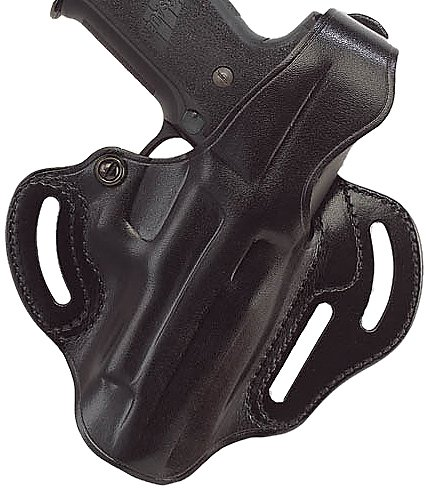 - Galco Cop 3 Slot Holster for Sig-Sauer P229, P228 (Black, Left-Hand)