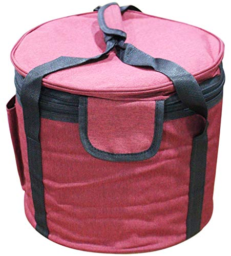 Purple Padded Carrying Cases for Crystal Singing Bowl Putting Singing Bowls (9-10 Inch)